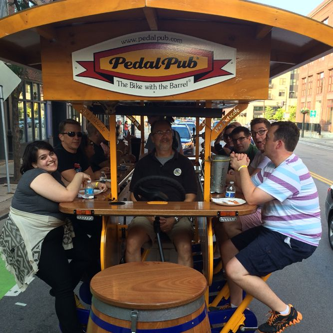 PedalPub Eat Street Food Tour